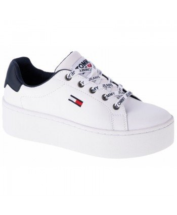 Buty Tommy Hilfiger Iconic Leather Flatform W EN0EN01113-YBR