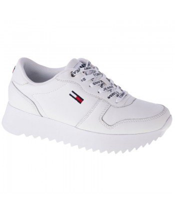 Buty Tommy Hilfiger High Cleated Leather W EN0EN01120-YBR